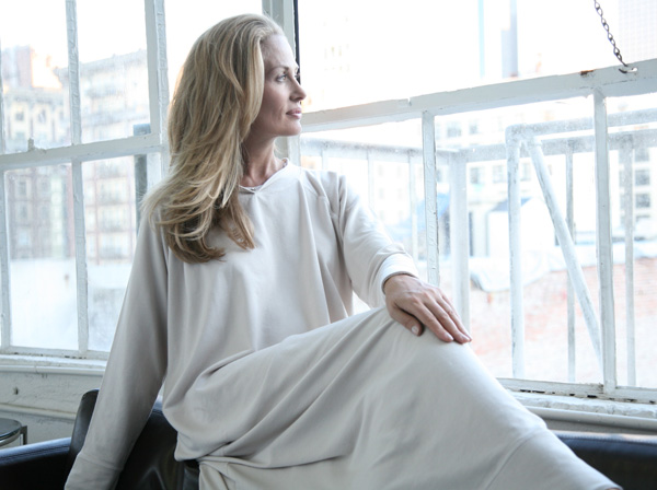 Urban MuuMuu long lounger as featured on Lingerie Briefs