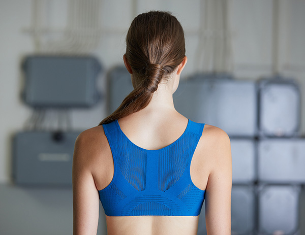 Karl Mayer BODY-MAPPING REVOLUTION, sports top back