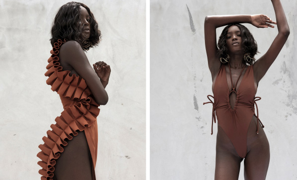 Andrea Iyamah Swimwear as featured on Lingerie Briefs