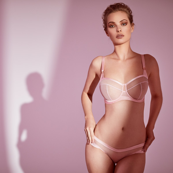 Nina Collection - new from Katherine Hamilton UK designer - featured on Lingerie Briefs