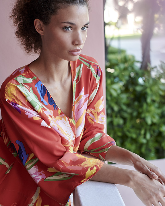 Natori Caftans as featured on Lingerie Briefs