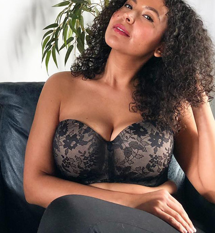 Strapless Style Guide ~ Curvy Couture's Award Winning Bras