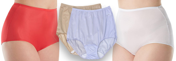 Shadowline Nylon Classic Brief #17042 featured on Lingerie Briefs