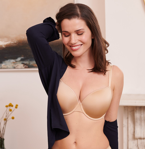 Best T-Shirt Bras! Panache Porcelain Elan Collection - featured on Lingerie Briefs
