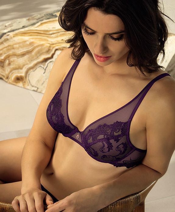 Lise Charmel Dressing Floral Collection as featured on Lingerie Briefs