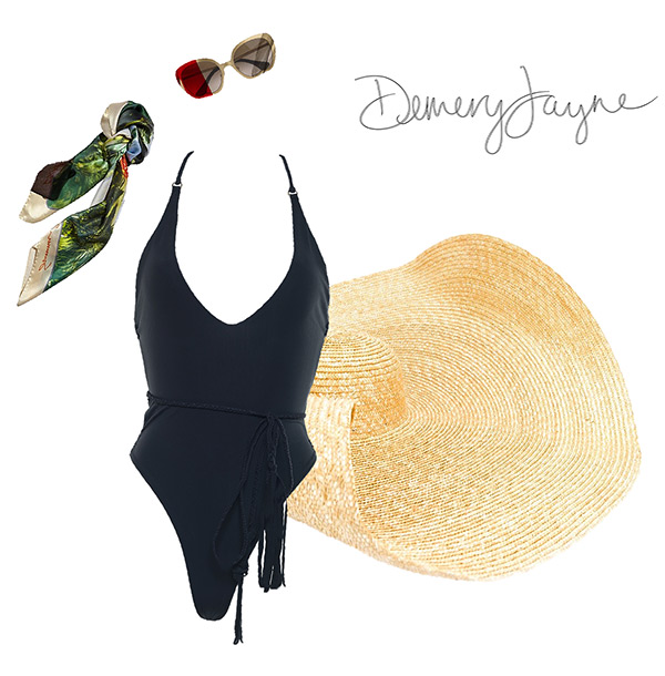 Demery Jayne lifestyle swimwear as featured on Lingerie Briefs