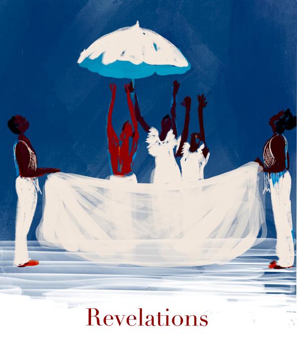 Tina Wilson illustrates 'Revelations' on Lingerie Briefs