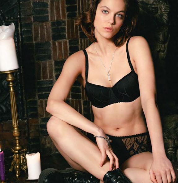 Louisa Bracq Julia moulded bra as featured on Lingerie Briefs