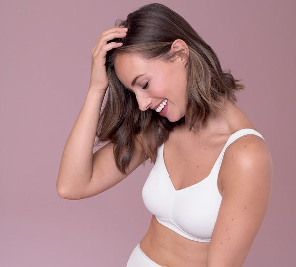 Hanni pocketed mastectomy bra from Anita Care - featured on Lingerie Briefs