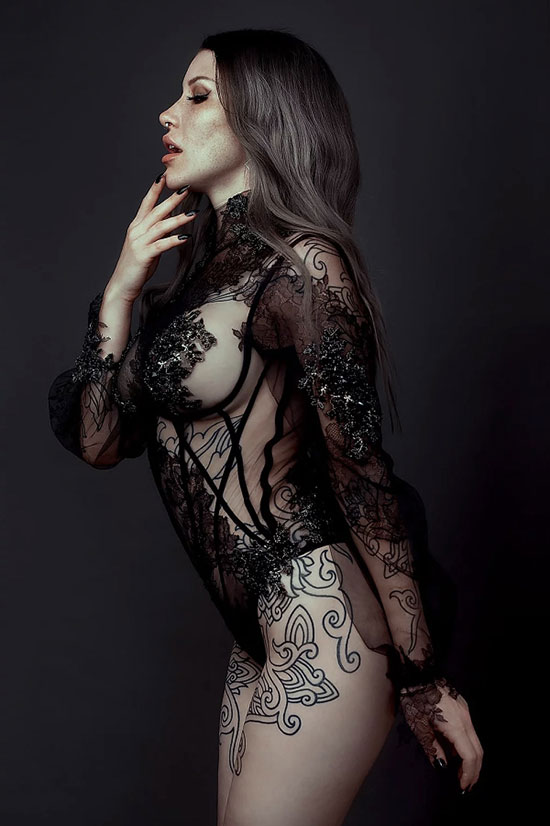 HERVÉ by Celine Marie as featured in the Gallery on Lingerie Briefs