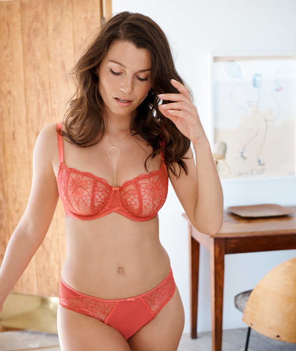 Panache's Alexandra offers superior lift and support with its classic balconette frame - featured on Lingerie Briefs