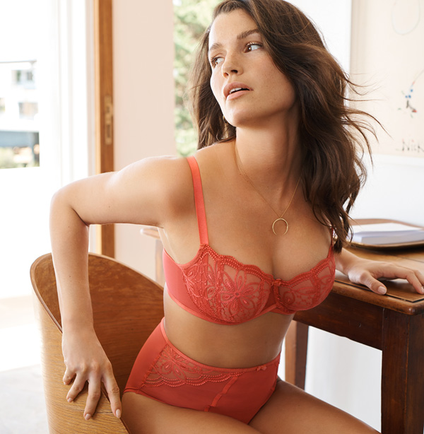 Panache's new collection 'Alexandra' is a much-anticipated addition- featured on Lingerie Briefs