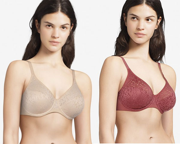 Chantelle Norah Underwire molded t-shirt bra as featured on Lingerie Briefs