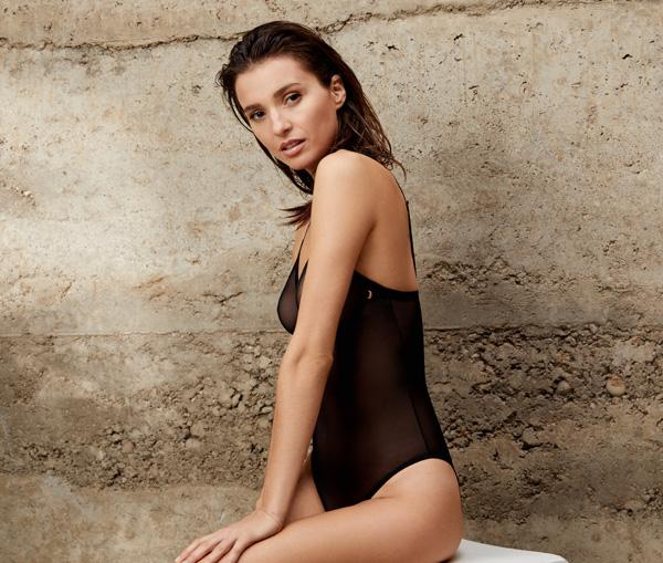 Le Mystere's stunning modern mesh bodysuit - featured on Lingerie Briefs