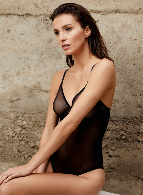 Le Mystere has created the next generation of bodywear in their Modern Mesh Bodysuit. Featured on Lingerie Briefs