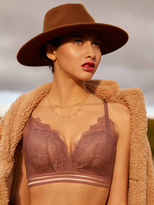 More than a bralette, Caroline (C003) is lightly lined - The Little Bra Company, featured on Lingerie Briefs