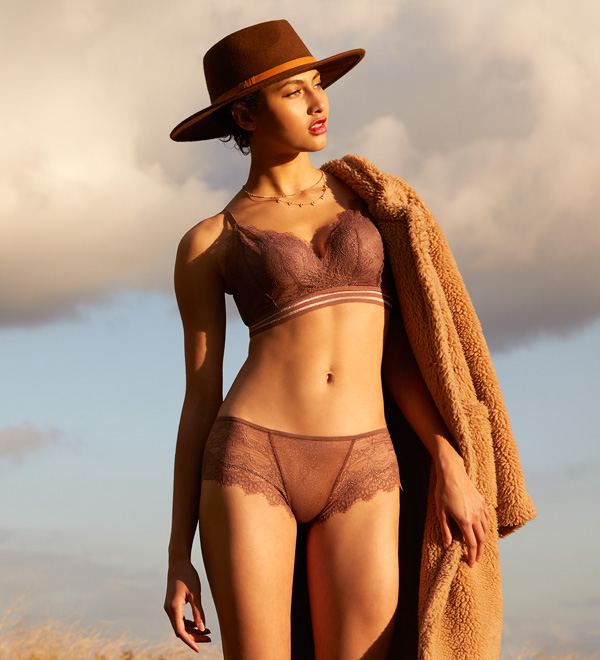 Caroline AW20 collection The Little Bra Company, featured on Lingerie Briefs