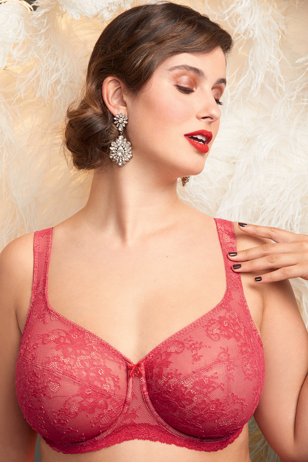 Rosa Faia Abby Big Cup all lace underwire 5216 featured on Lingerie Briefs