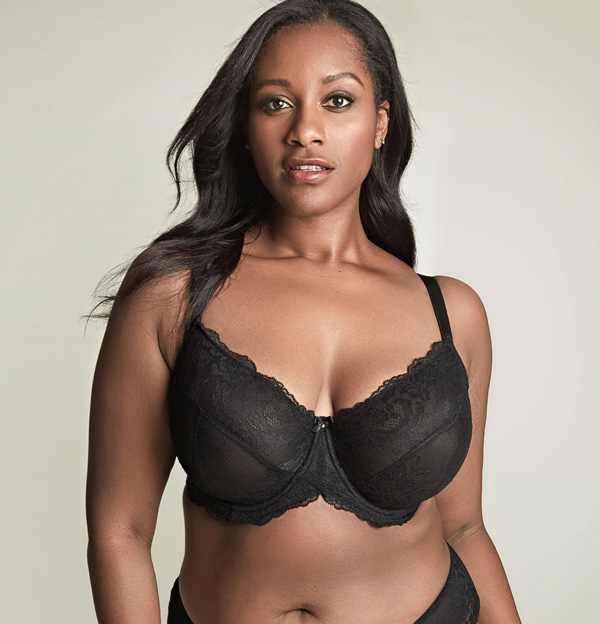 Panache Ana Plunge bra now up to HH and J Cup - featured on Lingerie Briefs