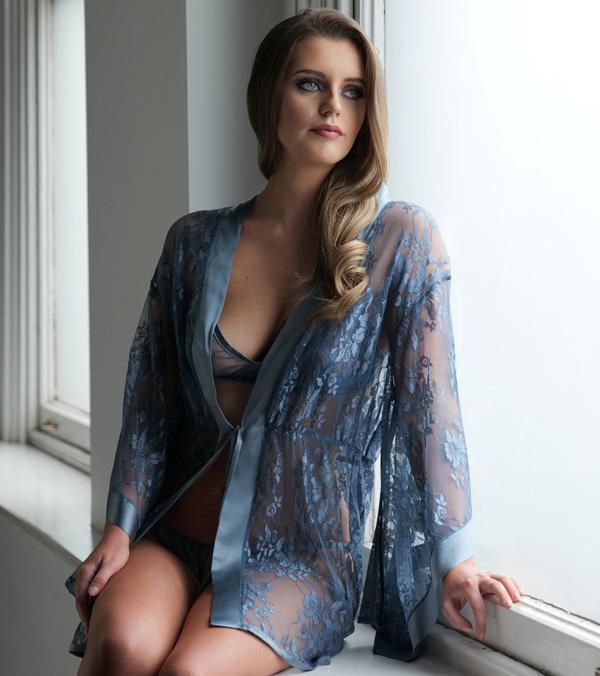 new Emma Harris Essential Elegance silk kimono made for Fenwick - featured on Lingerie Briefs
