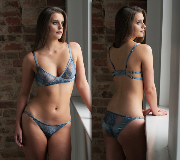 new Emma Harris Essential Elegance collection made for Fenwick - featured on Lingerie Briefs