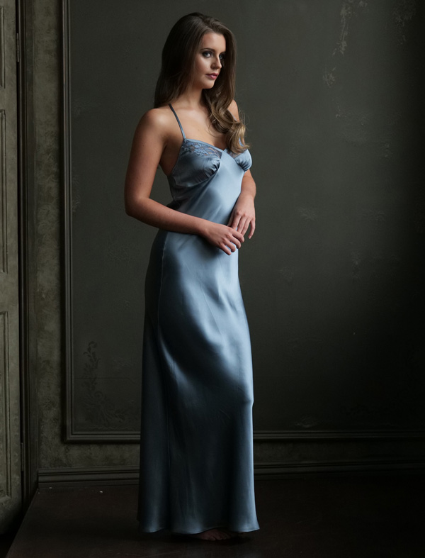new Emma Harris Essential Elegance long slip available soon at Fenwick - featured on Lingerie Briefs