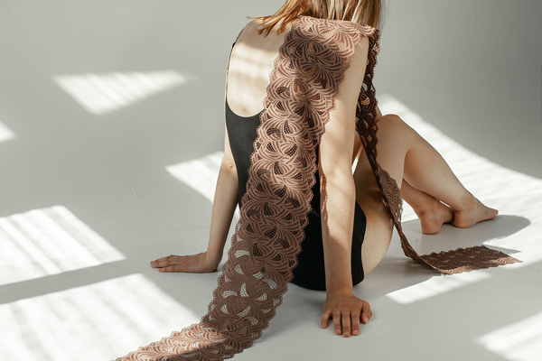 Chanty Loft lace features architectural lines and rich textures - featured on Lingerie Briefs