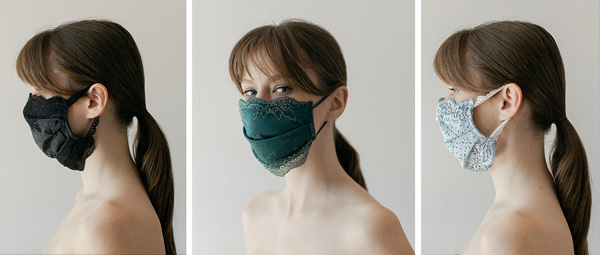 Chanty's Lace Face Masks - featured on Lingerie Briefs