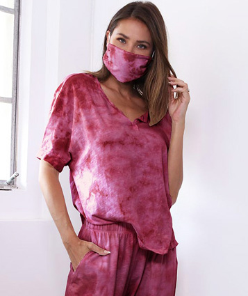 Tie Dye Renaissance – PJ Harlow Loungewear, Masks & Bra:30