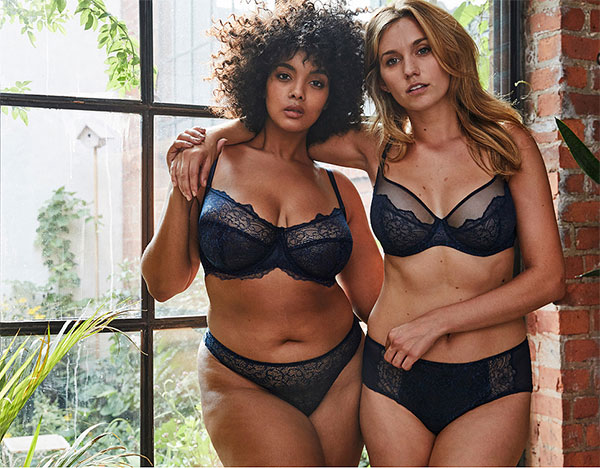 Liberte Lingerie Bowery Collection as featured on Lingerie Briefs
