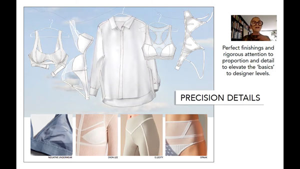 Lingerie Fabric, Color, Trends as featured on lingerie briefs