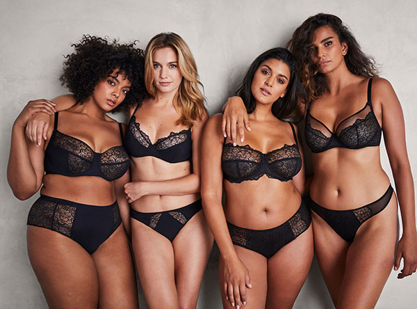 Liberte Lingerie for C to H cups as featured on Lingerie Briefs