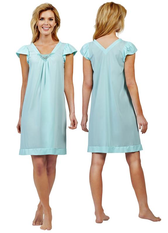 new Cherish waltz gown from Shadowline - featured on Lingerie Briefs