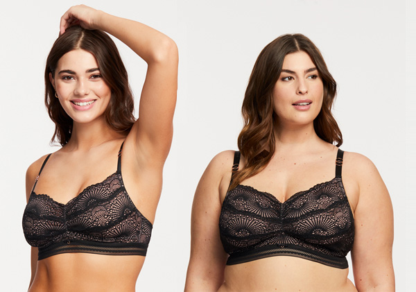 Femme Fatale lace bralette from Montelle Intimates featured on Lingerie Briefs