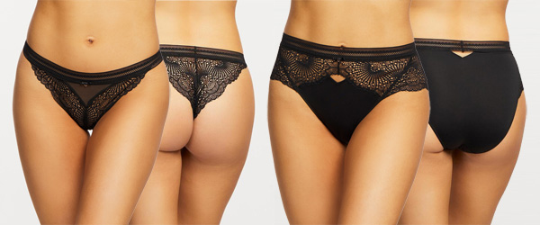Femme Fatale panties from Montelle Intimates featured on Lingerie Briefs