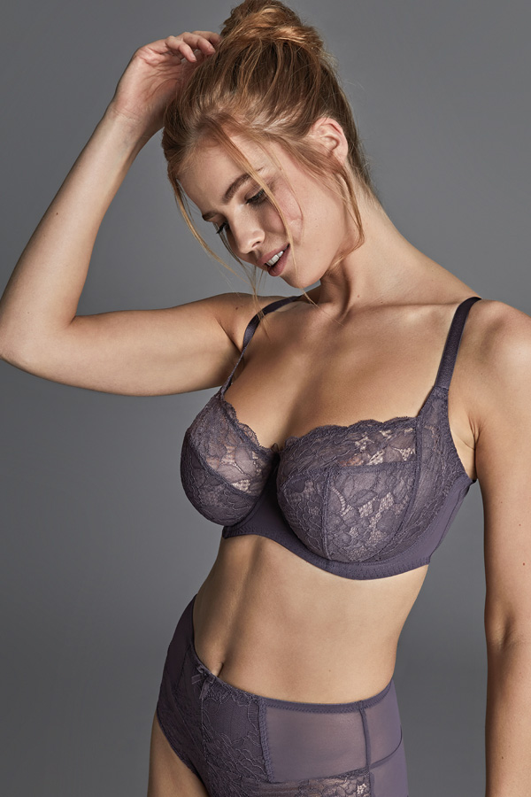 Panache new AW/20 Imogen in Kitten Grey for AW/20 as featured on Lingerie Briefs