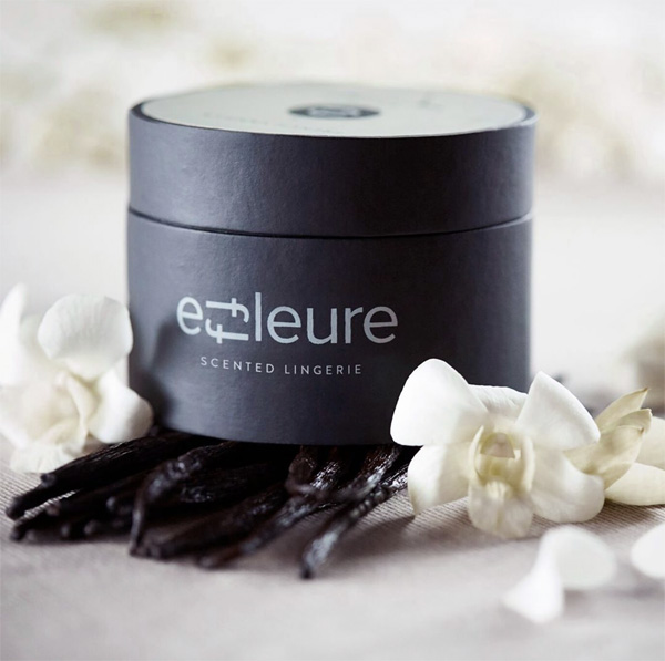 Effleure scented luxury panties - featured on Lingerie Briefs