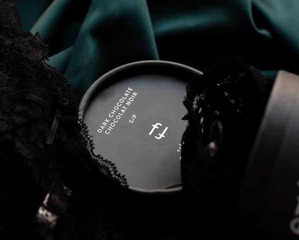 Effleure dark chocolate scented lingerie - featured on Lingerie Briefs