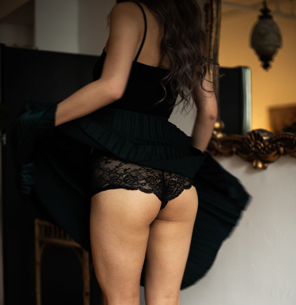 Effleure scented culotte panties - featured on Lingerie Briefs
