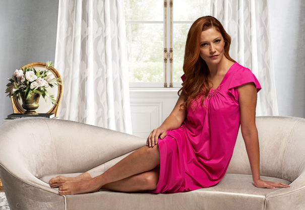 New Cherish sleepwear collection from Shadowline - featured on Lingerie Briefs
