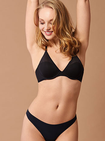 On Gossamer Launches a Winner ~ Micro Dot Demi Bra