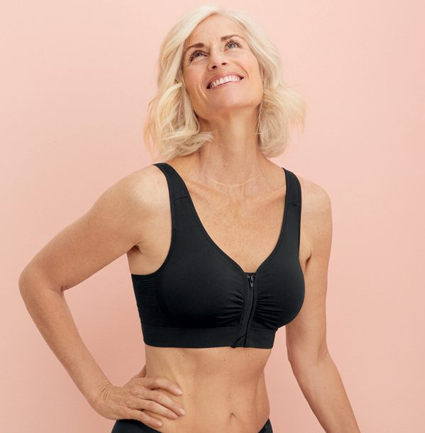 The Anita Care Lynn Pocketed Mastectomy Bra in black and now in Lotus featured on Lingerie Briefs
