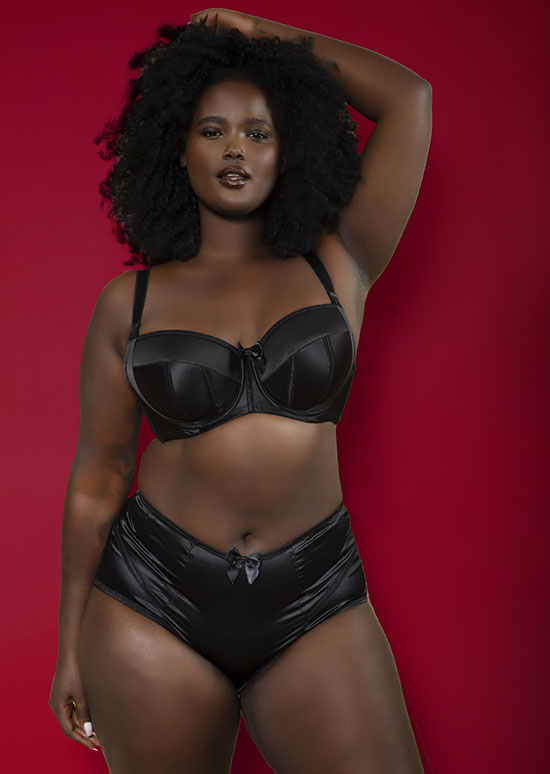 Parfait Charlotte bra in tuxedo black as featured on Lingerie Briefs