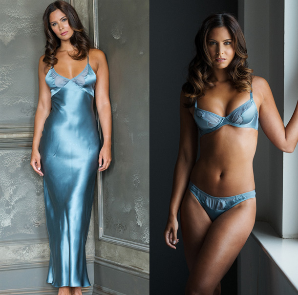 Emma Harris Holiday Gift ideas - Tamara collection featured on Lingerie Briefs