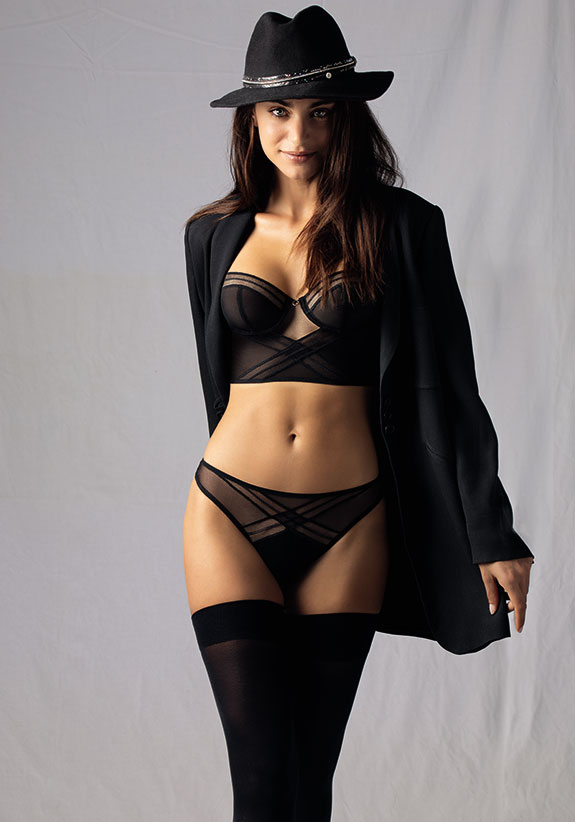 Antigel Soir Adrénaline Limited edition collection as featured on Lingerie Briefs