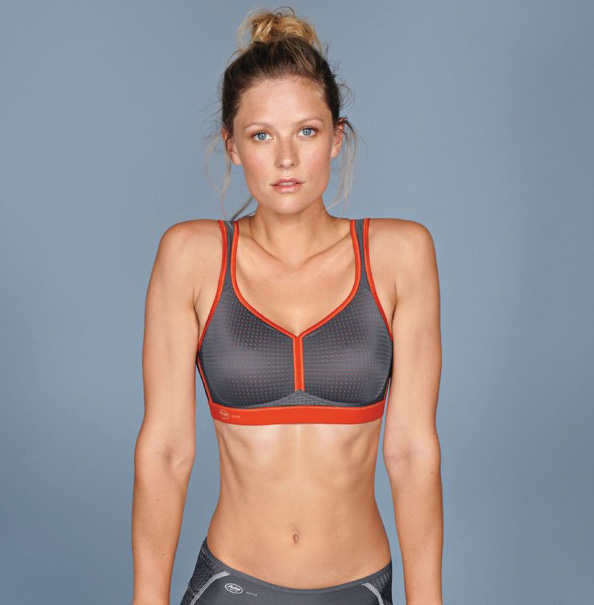 Performance Sports Bra style # 5566 by Anita Active featured on Lingerie Briefs