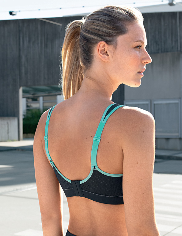 Anita Performance Sports Bra style # 5566 unbeatable comfort and support featured on Lingerie Briefs