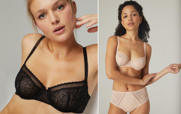 Simone Perele New Comete Sheer Demi bra featured on Lingerie Briefs