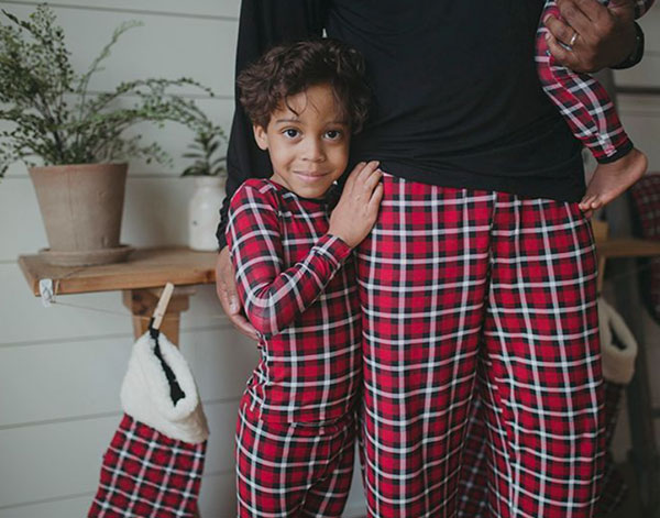Kickee Pants family pj's featured on Lingerie Briefs