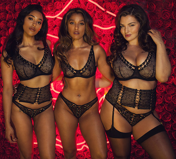Playful Promises Lingerie at Evolution Concepts Show as featured on Lingerie Briefs